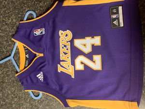 Lakers Kobe Bryant 24 toddler jersey for Sale in Phoenix, AZ