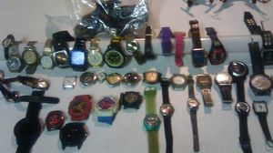 bunch of different watches all for a hun or pick what you want for Sale in Chula Vista, CA