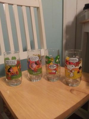 Snoopy glass Collection for Sale in Concord, NC