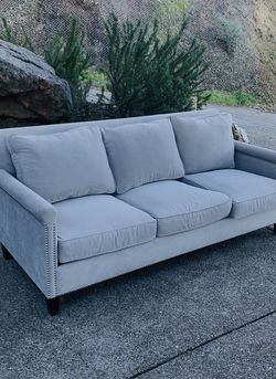 Elegant Modern Gray Sofa / Couch : Delivery Available for Sale in Oakland,  CA