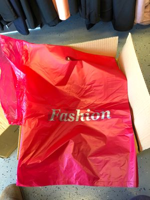 Box of 1000 plastic shopping retail bags for Sale in Avon, IN