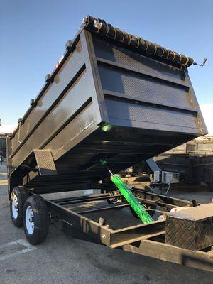 8x12x4 DUMP TRAILER for Sale in Lake Arrowhead, CA