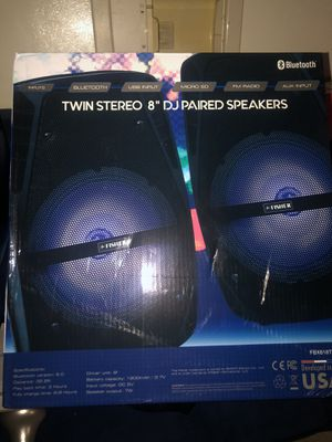 "Bluetooth 8"" speakers $60 or trade some new in box for Sale in Memphis, TN"
