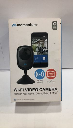 MOMENTUM DUAL BAND WI-FI VIDEO CAMERA 720P 2.4/ 5GHz for Sale in Denver, CO