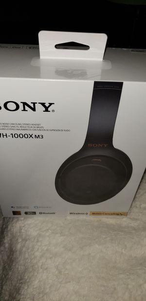 Sony WH-1000X M3 Bluetooth Headphones for Sale in Fairfax, VA