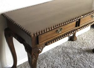 Sofa table or console / claw feet for Sale in Round Rock, TX