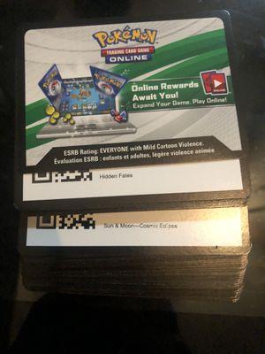 60 Pokémon TGC Online Codes for Sale in Washington, DC