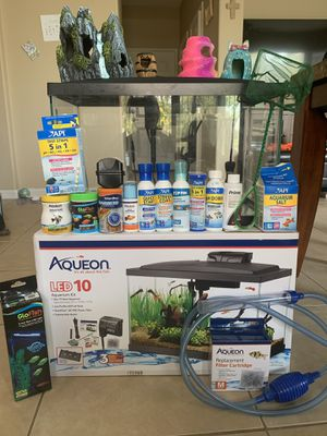 10 gallon fish tank kit for Sale in San Marcos, CA
