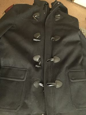 Peacoat By Express jacket With hoody for Sale in Las Vegas, NV