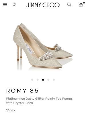 Jimmy Choo Romy 85 High Heels (New) - Size 37 for Sale in Los Angeles, CA