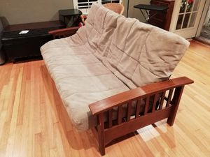 Futon - lightweight, great condition for Sale in Houston, TX