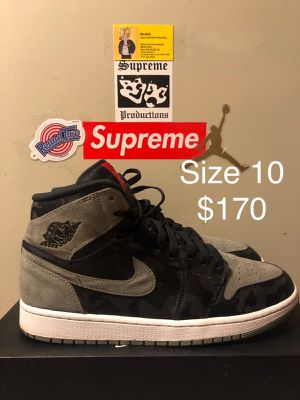 1's Shadow Camo, Size 10 $170 for Sale in New Carrollton, MD