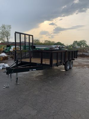 16' hybrid dump trailer for Sale in Arnold, MO