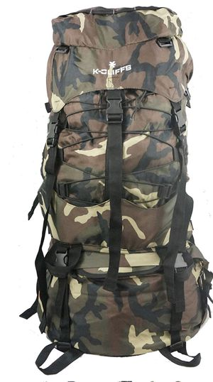 K-Cliffs 70 L Hiking Backpack Large Scout Camping Bag for Sale in New Albany, OH