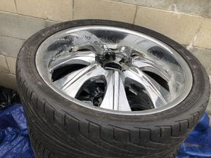 Chevy rims r22 for Sale in Los Angeles, CA