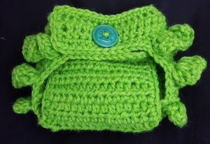 Handmade Crochet Ruffle Diaper Cover for Sale in Oakley, CA