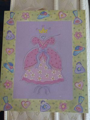Princess canvas print for Sale in Surprise, AZ