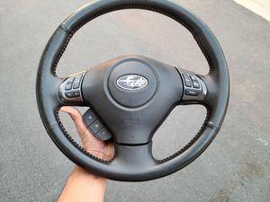 2011 Subaru WRX STI / oem steering wheel for Sale in Baldwin Park, CA