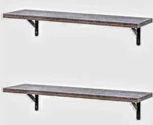 "Floating wall shelves, 2 set (Dimensions: 23.6 ""Length × 7.9"" width × 4.3 ""height.) for Sale in Ontario, CA"