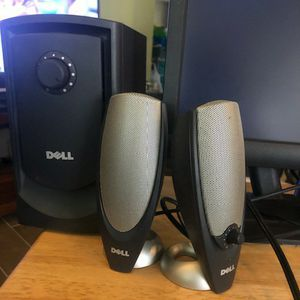 Dell Computer Monitor and Speakers for Sale in Fort Lauderdale, FL