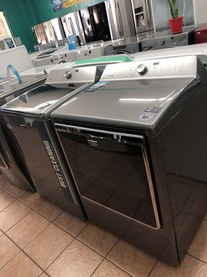 Maytag Stainless Washer and Dryer for Sale in Carson, CA