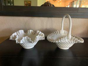 Antique white glass dishes for Sale in Glendora, CA