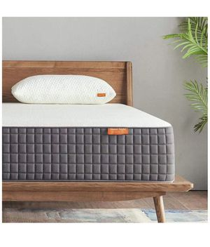 12 Inch Queen Size Mattress Medium Firm, Ventilated Memory Foam Mattress for a Deep Sleep, Supportive & Pressure Relief for Sale in Norco, CA