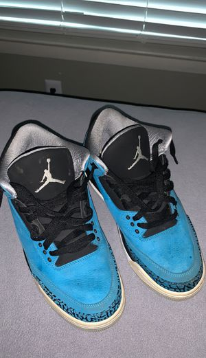 Jordan 3 retro powder blue for Sale in Dallas, TX