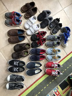 Toddler boy shoes size 9 for Sale in Feasterville-Trevose,  PA