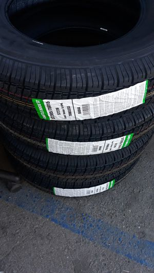st205 75 r15 trailers tires 4new $200 for Sale in Los Angeles, CA