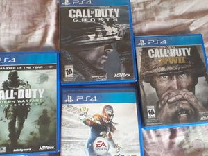 All in good condition ps4 games for Sale in Vernon, CA