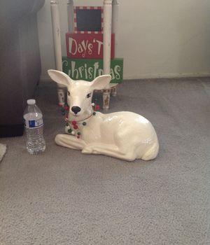 Big christmas raindeer for Sale in Lakewood, CA