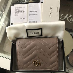 Gucci marmont card case wallet for Sale in South El Monte, CA