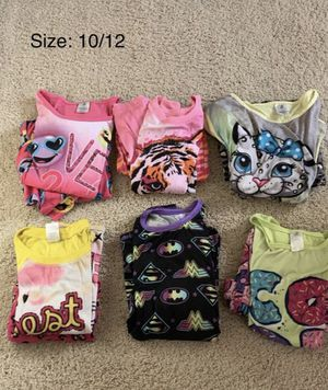 Girls Short Sleeved and Pants Pajamas for Sale in Chula Vista, CA