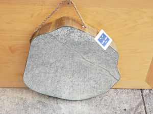 Wood slice mirror NWT for Sale in Beavercreek, OR