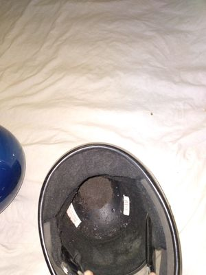 2 - bell motorcycle helmets- both for 30 ALL REASONABLE OFFERS CONSIDERED for Sale in Cleveland, OH