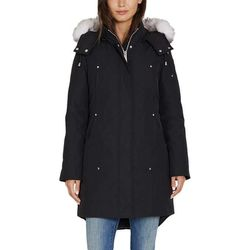 HFX Ladies Heavy Down Parka Hooded with Fur Strip Black Small for Sale in Huntington Park,  CA