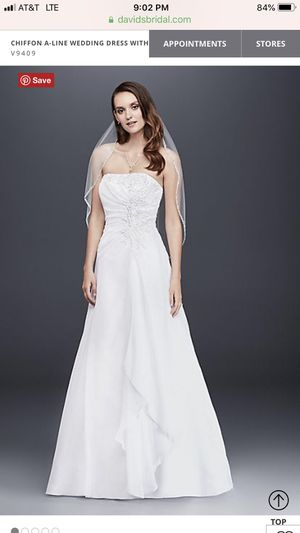 David's Bridal sz 2 Ivory Wedding Gown for Sale in East Wenatchee, WA