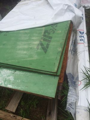 Structural 1 4x8' exterior plywood 20 pieces and various lumber for Sale in Niceville, FL