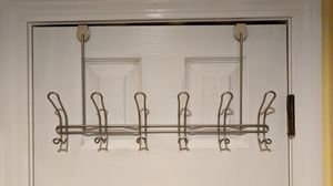 Over the door hooks 6, chrome finish for Sale in Southborough, MA