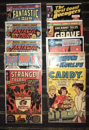 Lot of 10 vintage comics comic books for Sale in San Jose, CA