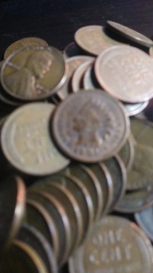 1 Pound Of Unsearched Wheat Pennies - Indian Heads Mixed in for Sale in Wenatchee, WA