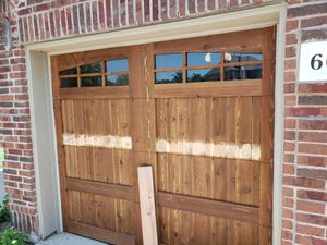Repair and insulation wood garage doors for Sale in Dallas, TX