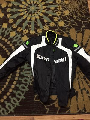 Motorcycle jacket (Kawasaki) for Sale in New Bedford, MA