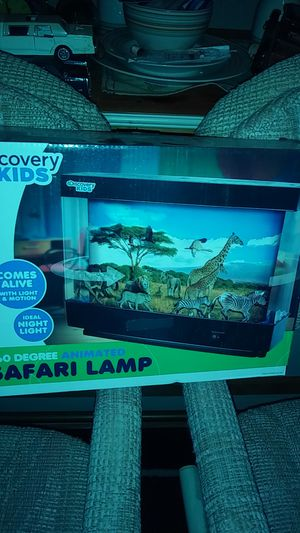 Kids discovery safari lamp for Sale in Columbus, OH