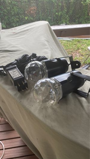 Kaleidoscope lights (2) for Sale in Tampa, FL