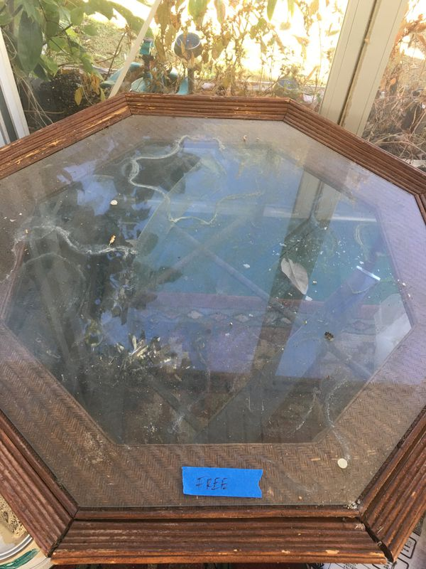 Free Glass Table ...and more for self pick up