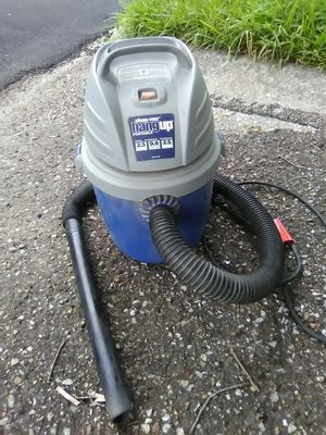 Portable hang up vacuum cleaner wet dry water shop office business for Sale in Houston, TX