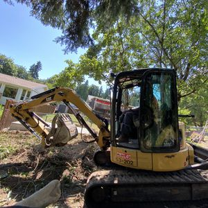 excavator excavation grading leveling demolition brush clearing for Sale in Tacoma, WA