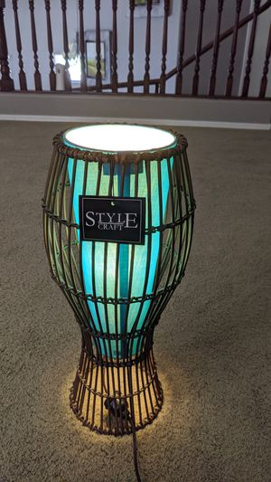 Home decor style craft lamp for Sale in Goodyear, AZ